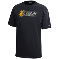 Champion TLU Bulldogs Logo Tee