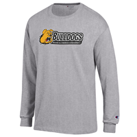 Champion TLU Bulldogs Logo Long Sleeve Tee