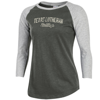 Champion Womens TLU Bulldogs Rochester Baseball Tee