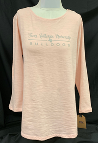 MV Womens TLU Texas ¾ Sleeve Tee
